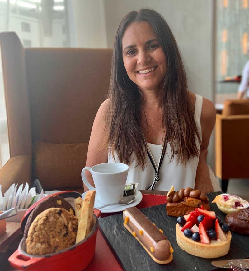 Hora del té en Hilton Pilar