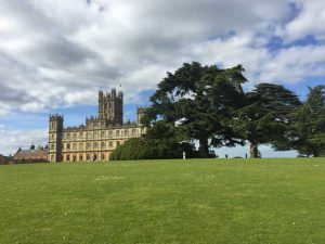 El castillo de la serie Downton Abbey